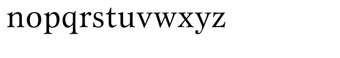 ITC New Esprit Regular Font LOWERCASE