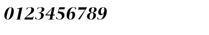 ITC New Veljovic Display Bold Italic Font OTHER CHARS