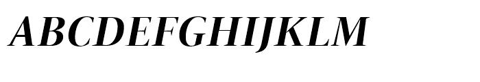 ITC New Veljovic Display Bold Italic Font UPPERCASE