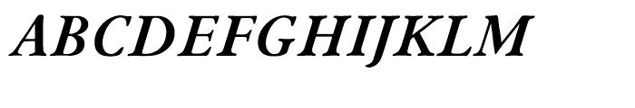 ITC New Winchester Bold Italic Font UPPERCASE