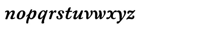 ITC New Winchester Bold Italic Font LOWERCASE