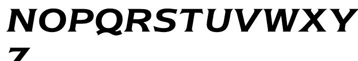 ITC Newtext Demi Italic Font UPPERCASE