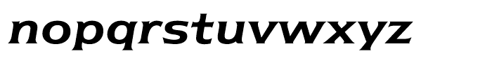 ITC Newtext Demi Italic Font LOWERCASE