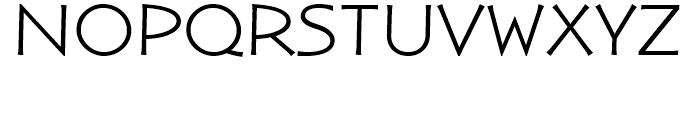 ITC Nova Lineta Extended Font UPPERCASE