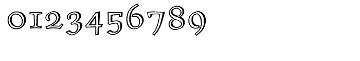 ITC Oldrichium Engraved Font OTHER CHARS