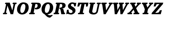 ITC Pacella Black Italic Font UPPERCASE