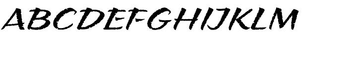 ITC Puamana Regular Font UPPERCASE