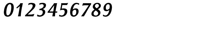 ITC Resavska Sans Bold Italic Font OTHER CHARS