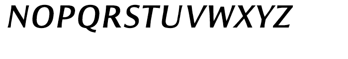 ITC Resavska Sans Bold Italic Font UPPERCASE