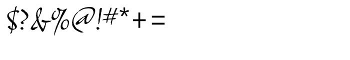 ITC Samuel Regular Font OTHER CHARS