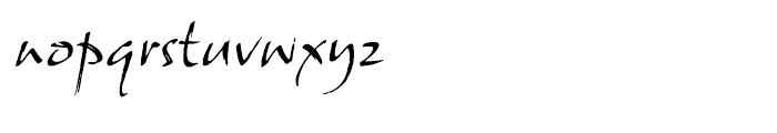 ITC Samuel Regular Font LOWERCASE