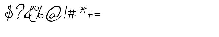 ITC Santangeli Regular Font OTHER CHARS