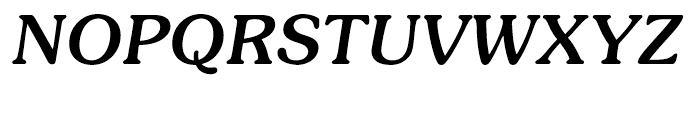 ITC Souvenir Medium Italic Font UPPERCASE
