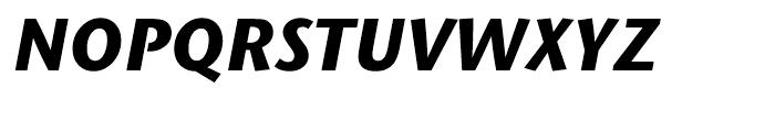 ITC Stone Humanist Bold Italic Font UPPERCASE