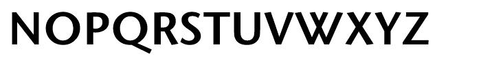 ITC Stone Humanist Semibold Font UPPERCASE