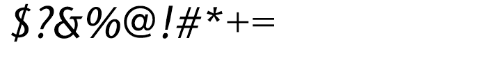 ITC Stone Sans Hellenic Medium Italic Font OTHER CHARS