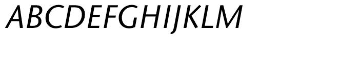 ITC Stone Sans Hellenic Medium Italic Font UPPERCASE