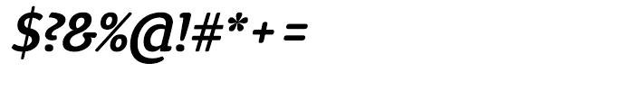 ITC Tyke Medium Italic Font OTHER CHARS