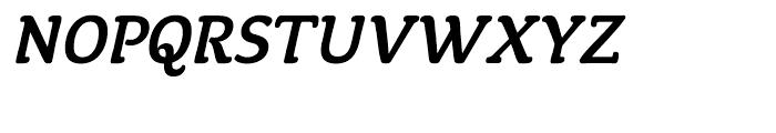 ITC Tyke Medium Italic Font UPPERCASE