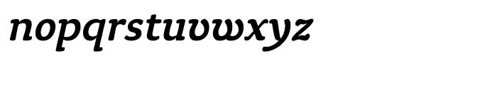 ITC Tyke Medium Italic Font LOWERCASE