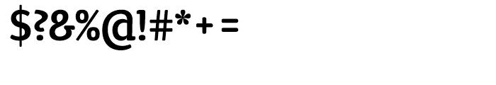 ITC Tyke Medium Font OTHER CHARS
