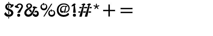 ITC Typados Regular Font OTHER CHARS