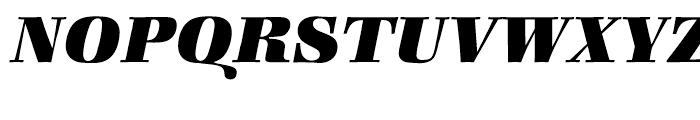 ITC Zapf Book Heavy Italic Font UPPERCASE