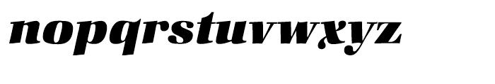 ITC Zapf Book Heavy Italic Font LOWERCASE