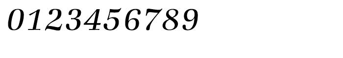 ITC Zapf Book Light Italic Font OTHER CHARS