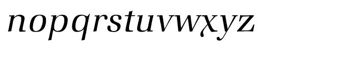ITC Zapf Book Light Italic Font LOWERCASE