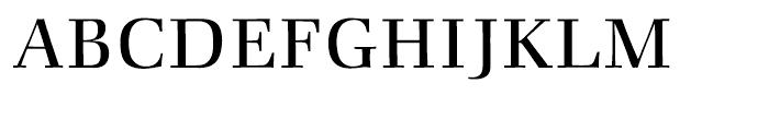 ITC Zapf Book Light Font UPPERCASE