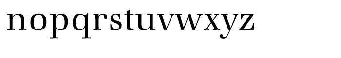 ITC Zapf Book Light Font LOWERCASE