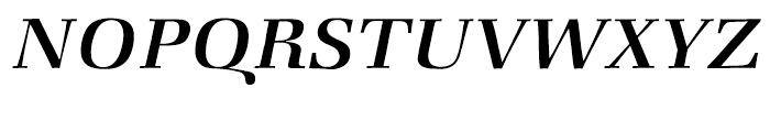 ITC Zapf Book Medium Italic Font UPPERCASE