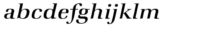 ITC Zapf Book Medium Italic Font LOWERCASE