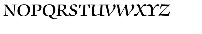 ITC Zapf Chancery Demi Font UPPERCASE