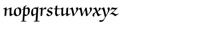 ITC Zapf Chancery Demi Font LOWERCASE