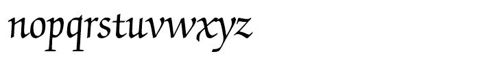 ITC Zapf Chancery Roman Font LOWERCASE