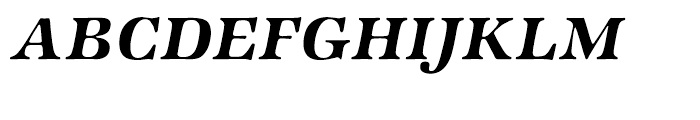 ITC Zapf International Demi Italic Font UPPERCASE