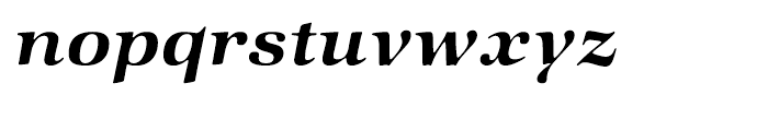 ITC Zapf International Demi Italic Font LOWERCASE