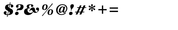 ITC Zapf International Heavy Italic Font OTHER CHARS