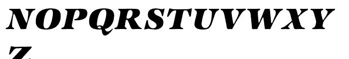 ITC Zapf International Heavy Italic Font UPPERCASE