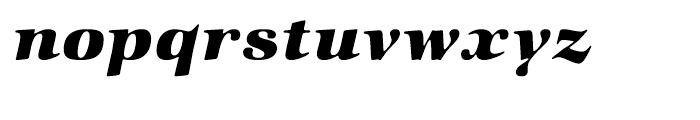 ITC Zapf International Heavy Italic Font LOWERCASE