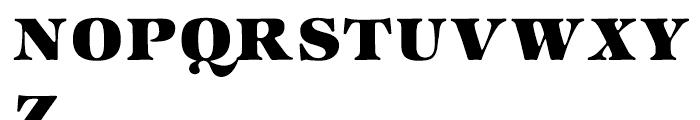 ITC Zapf International Heavy Font UPPERCASE