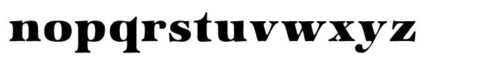 ITC Zapf International Heavy Font LOWERCASE