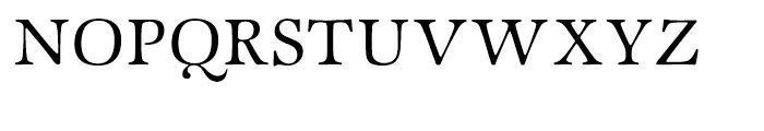 ITC Zapf International Light Font UPPERCASE
