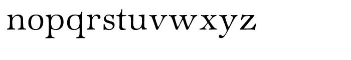ITC Zapf International Light Font LOWERCASE