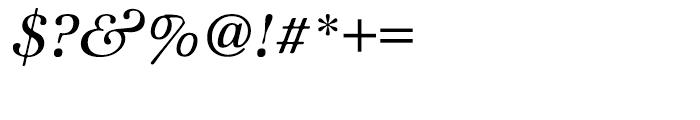 ITC Zapf International Medium Italic Font OTHER CHARS