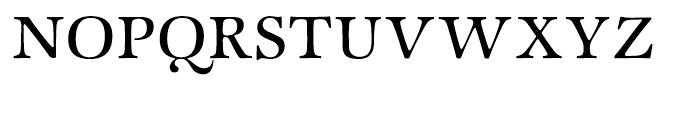 ITC Zapf International Medium Font UPPERCASE