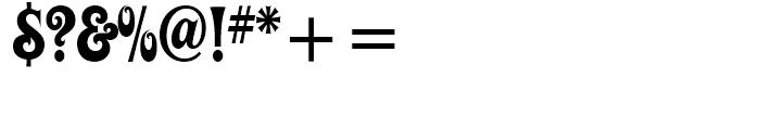 ITC Ziggy Regular Font OTHER CHARS