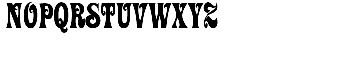 ITC Ziggy Regular Font UPPERCASE